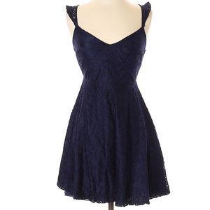 Lulu's Lace Detail Dress